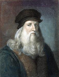 Leonardo da Vinci used standing desks