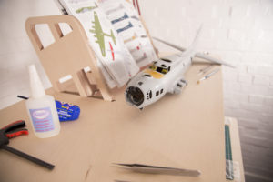 Helmm Standing Workbench for model makers