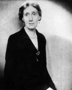Virginia Woolf wrote at a standing desk
