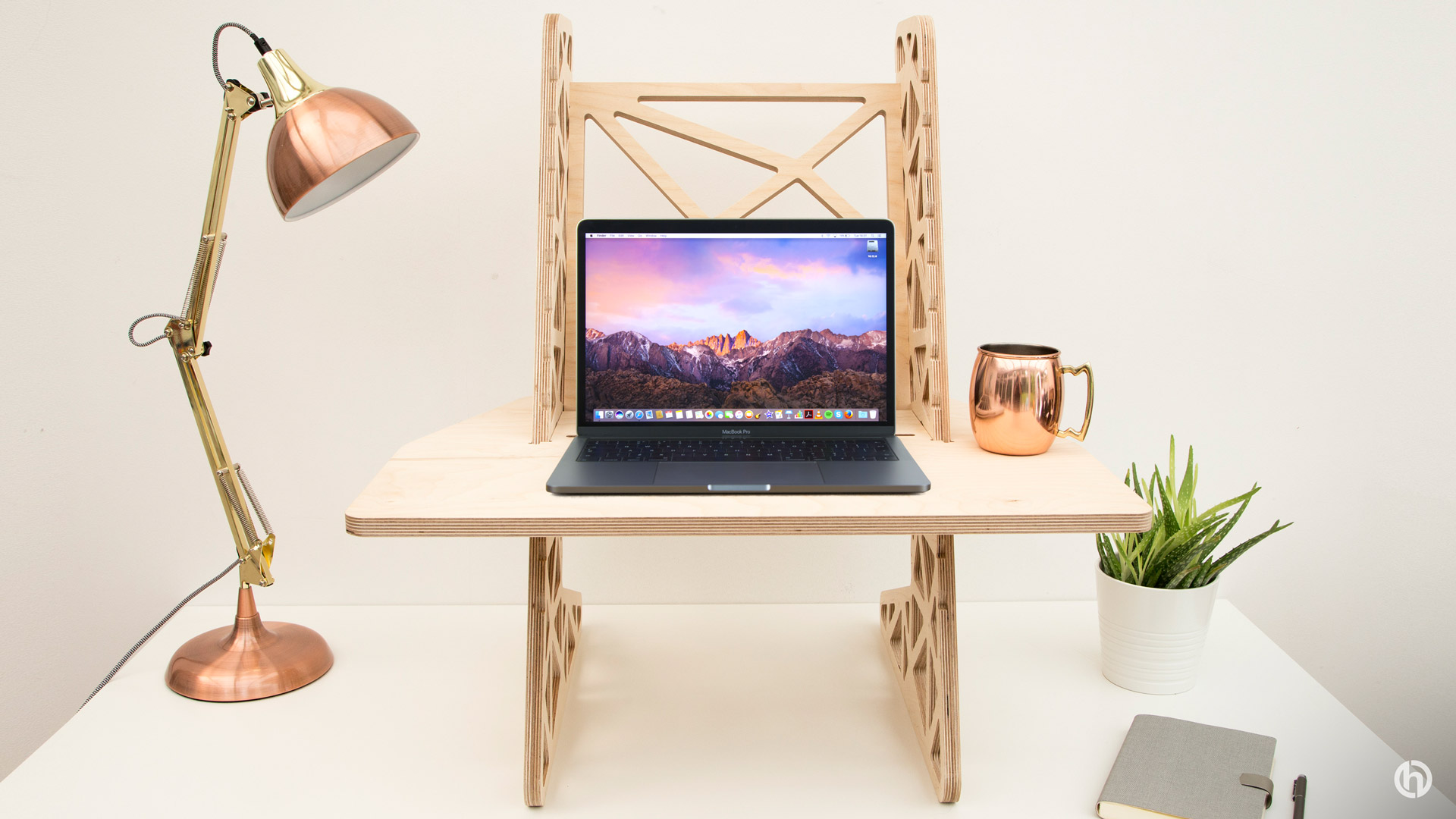 standing desk for Apple MacBook