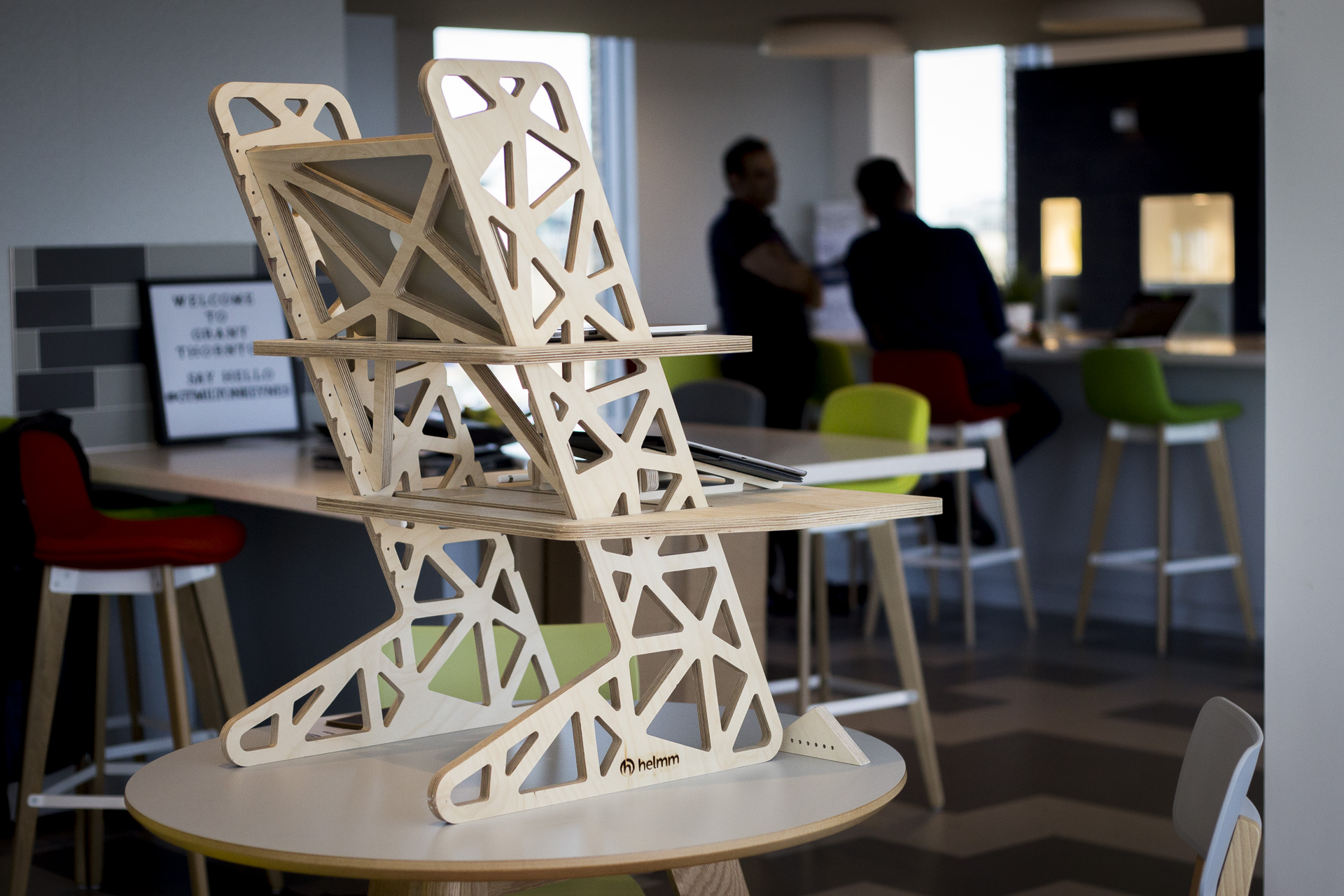 Standing desks for coworking spaces