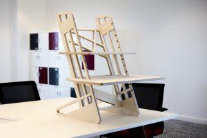 S-Desk 22 wooden standing desk converter