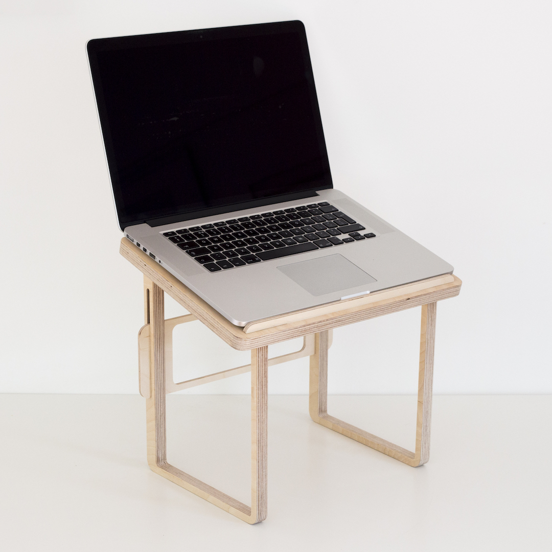 Wooden Portable Standing Desk